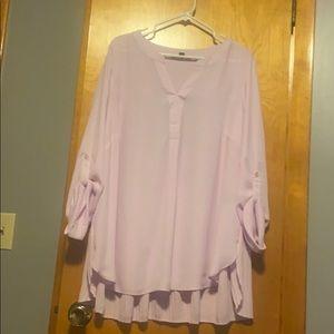 Light lilac blouse